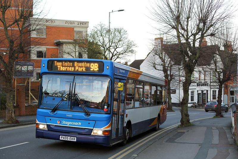 34683 PX05EKR, Swindon 18/11/2015