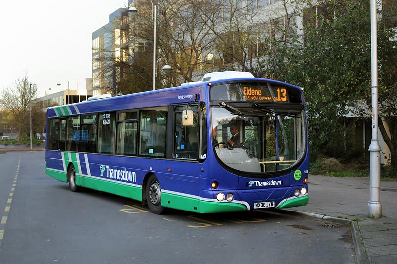 508 WX06JYB, Swindon 18/11/2015