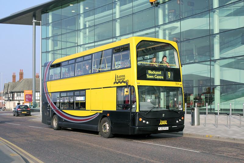 304 PJ02PYH, Blackpool 19/3/2015