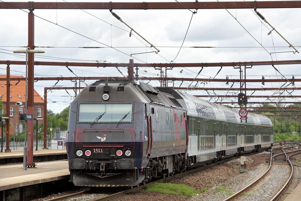ME1511 Roskilde 19/7/2015<br /> RE2524 1046 Holbæk St-Østerport St
