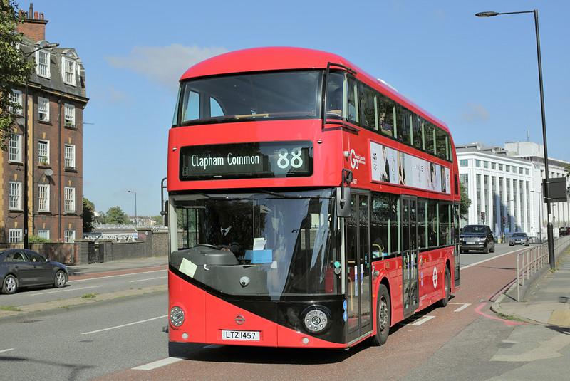 LT457 LTZ1457, Hampstead Road 19/9/2015