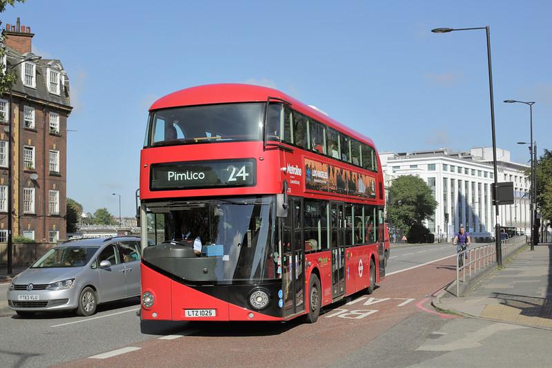 LT25 LTZ1025, Hampstead Road 19/9/2015