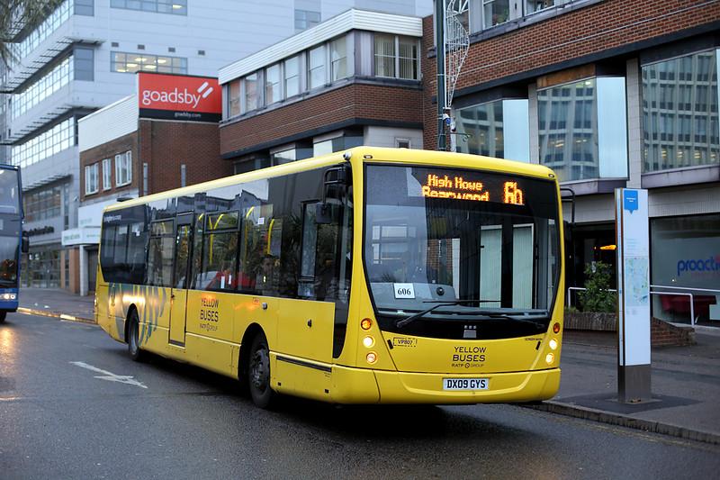 VP807 DX09GYS, Bournemouth 19/11/2015