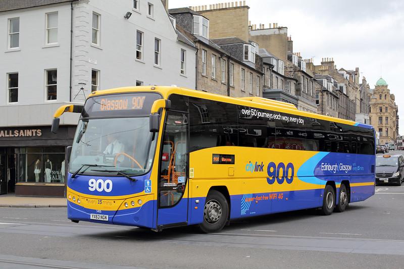 54135 YX63NGN, Edinburgh 20/7/2015