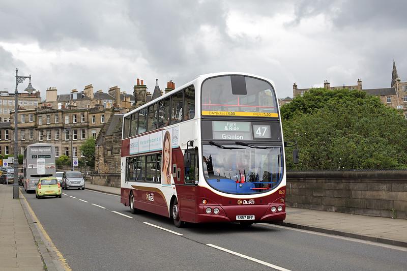 860 SN57DFP, Edinburgh 20/7/2015