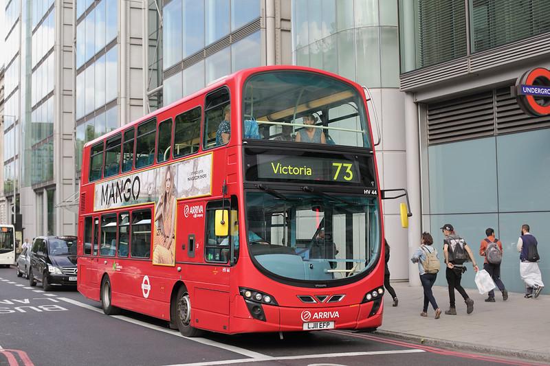 HV44 LJ11EFP, Euston Square 21/6/2015