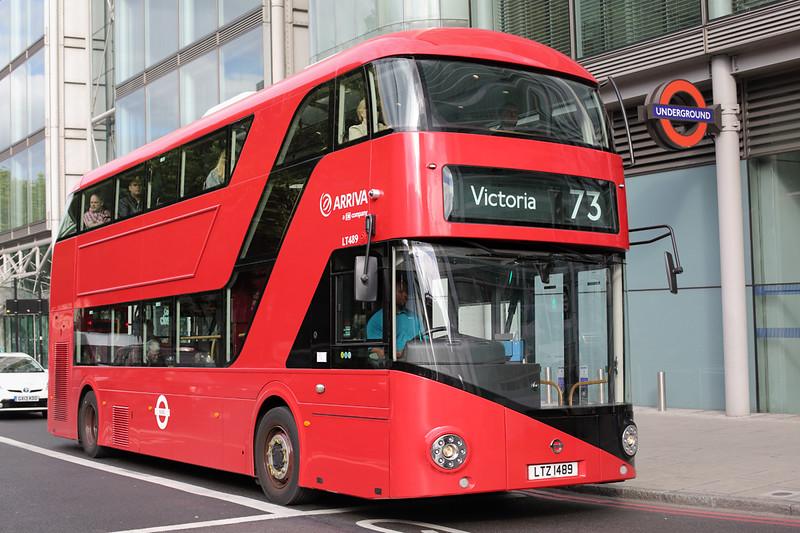 LT489 LTZ1489, Euston Square 21/6/2015