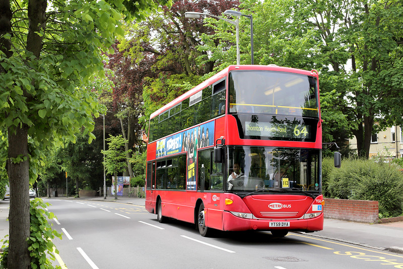 958 YT59DYA, South Croydon 22/5/2015
