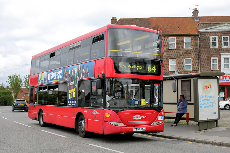 958 YT59DYA, New Addington 22/5/2015