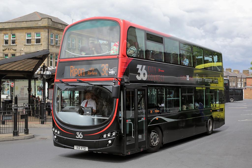 3612 X12VTD, Harrogate 22/6/2015
