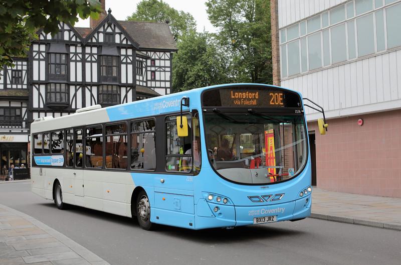2156 BX13JRZ, Coventry 25/8/2015