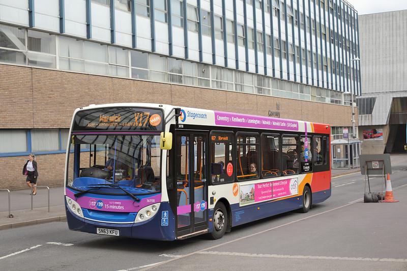 36938 SN63KFU, Coventry 25/8/2015