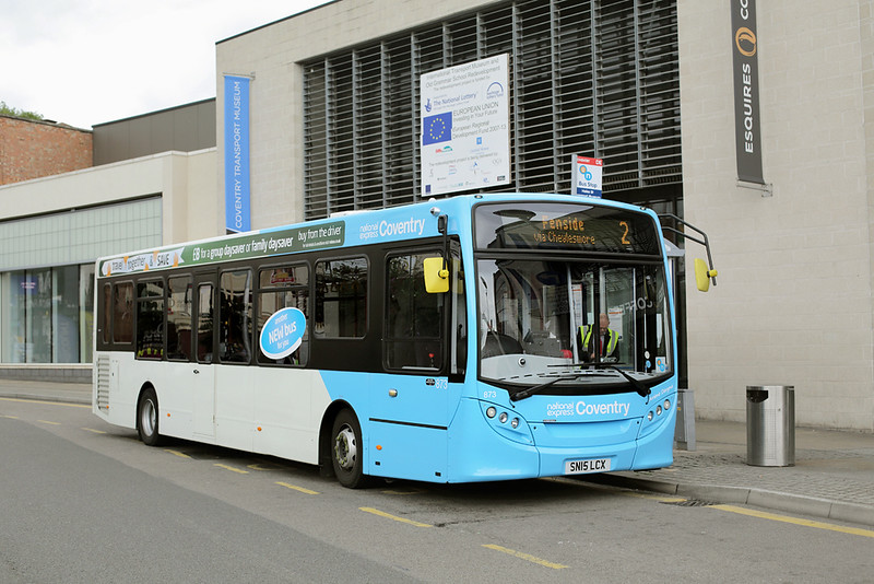 873 SN15LCX, Coventry 25/8/2015