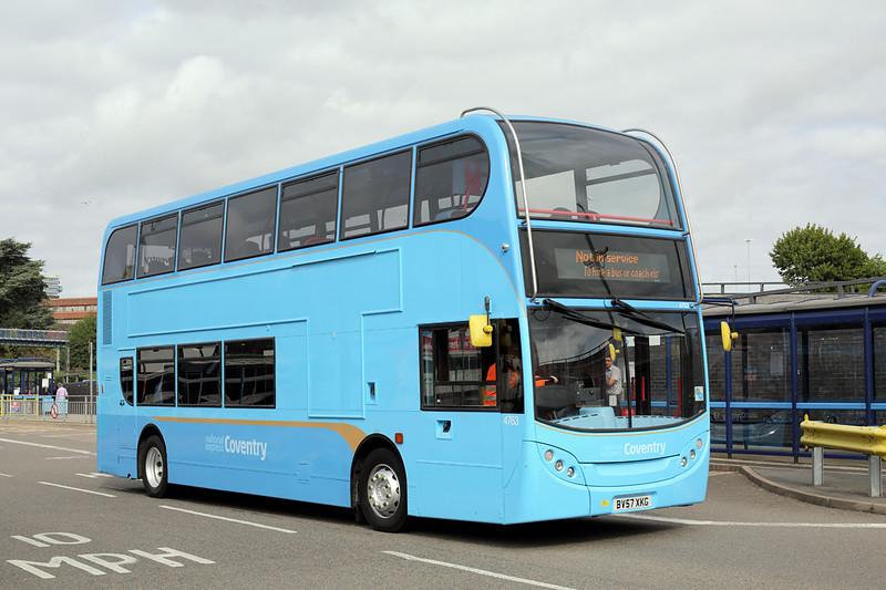 4763 BV57XKG, Coventry 25/8/2015
