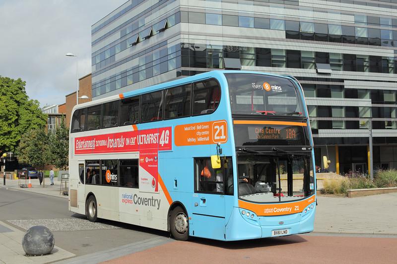 4836 BX61LND, Coventry 25/8/2015