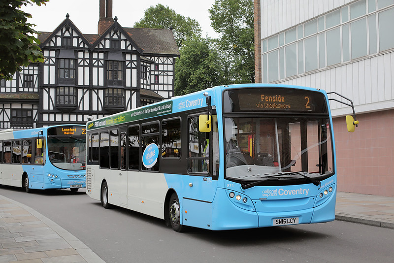 874 SN15LCY, Coventry 25/8/2015