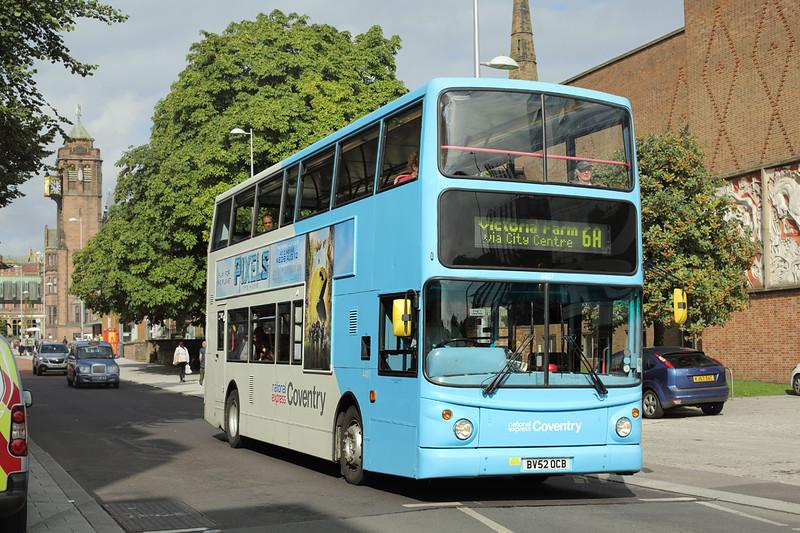 4407 BV52OCB, Coventry 25/8/2015