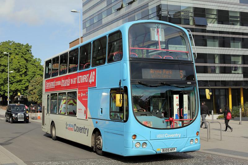 4694 BU05HFP, Coventry 25/8/2015