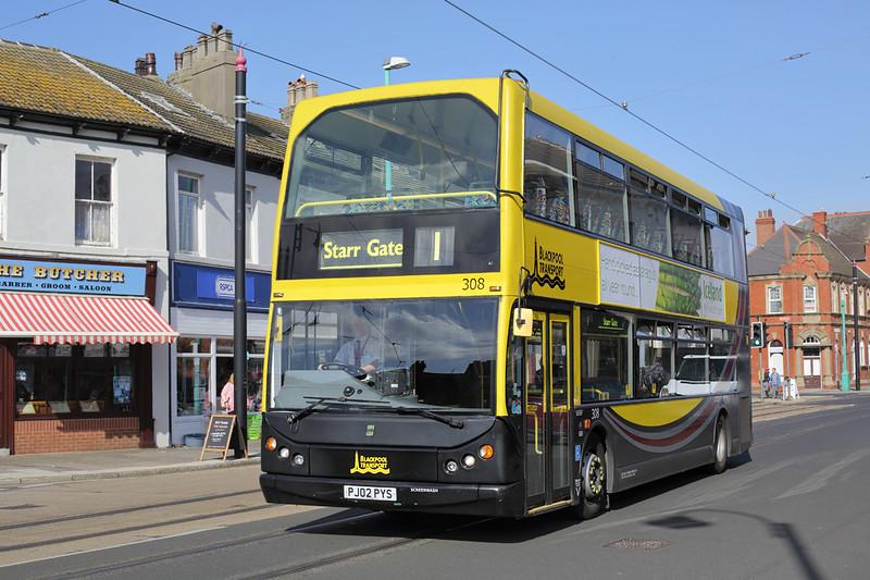 308 PJ02PYS, Fleetwood 26/9/2015