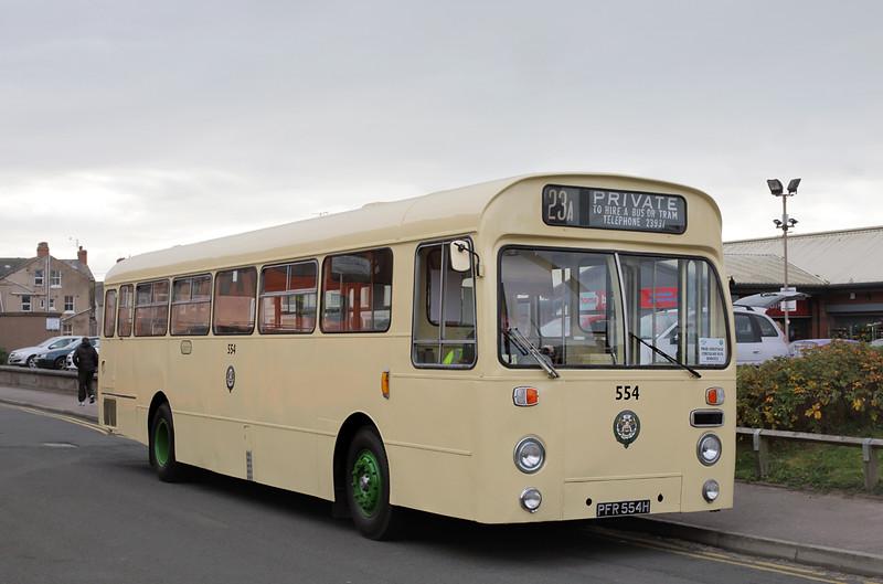 554 PFR554H, Blackpool 26/9/2015