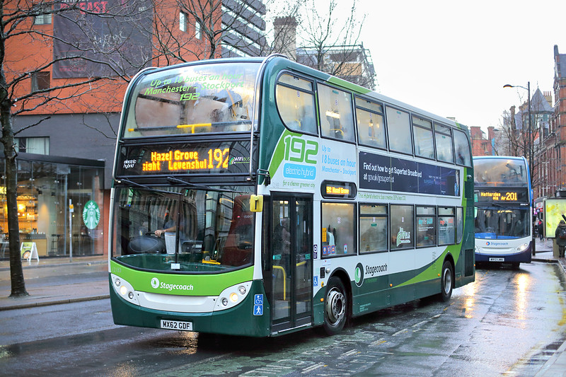 12183 MX62GDF, Manchester 28/1/2015