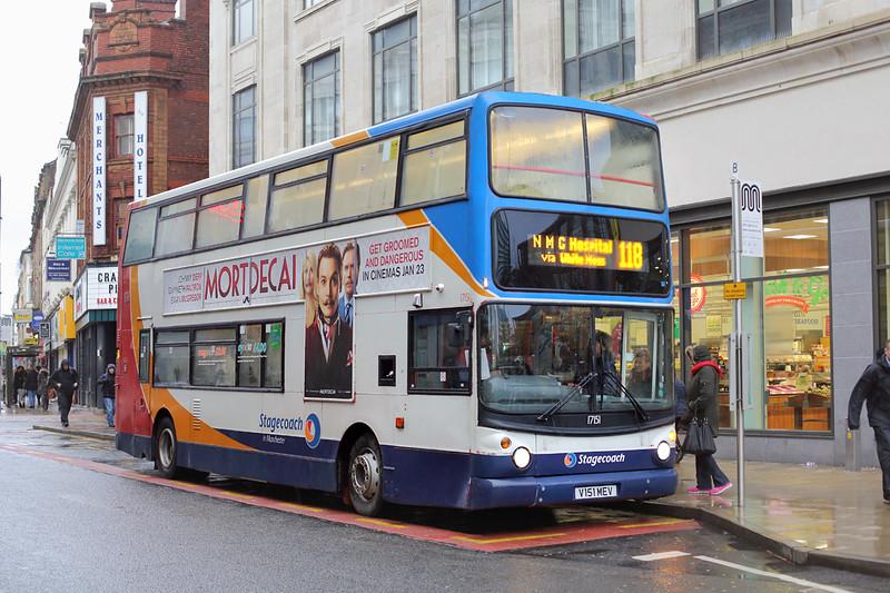17151 V151MEV, Manchester 28/1/2015