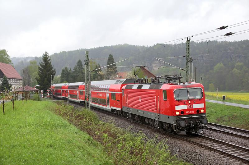 143883 Kurort Rathen 28/4/2015<br /> S1 31723 0916 Meißen Triebischtal-Bad Schandau