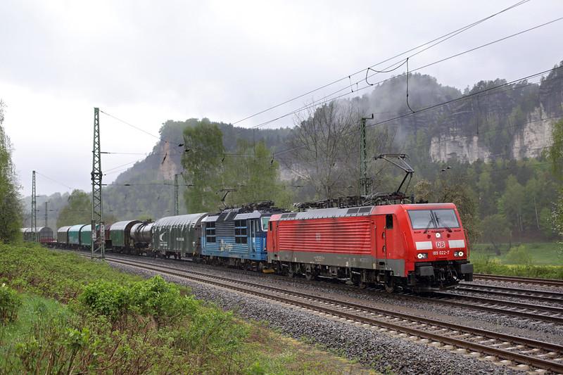 189022 and 372007, Kurort Rathen 28/4/2015