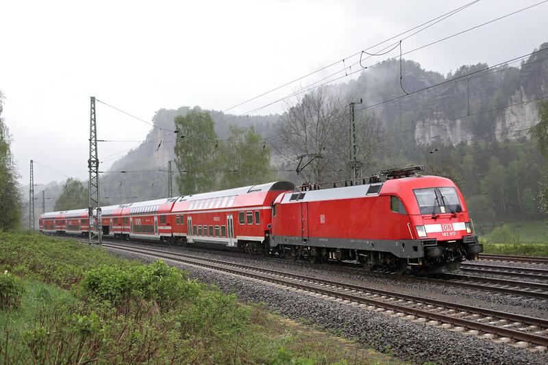 182017 Kurort Rathen 28/4/2015<br /> S1 31727 1016 Meißen Triebischtal-Bad Schandau
