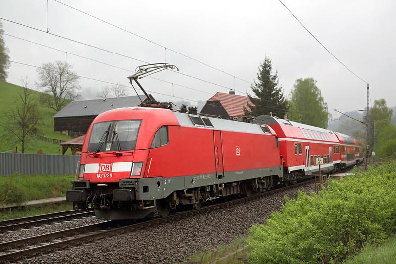 182020 Kurort Rathen 28/4/2015<br /> S1 31726 1011 Bad Schandau-Meißen Triebischtal