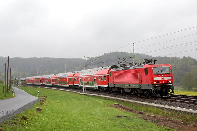 143126 Kurort Rathen 28/4/2015<br /> S1 31717 0746 Meißen Triebischtal-Schöna