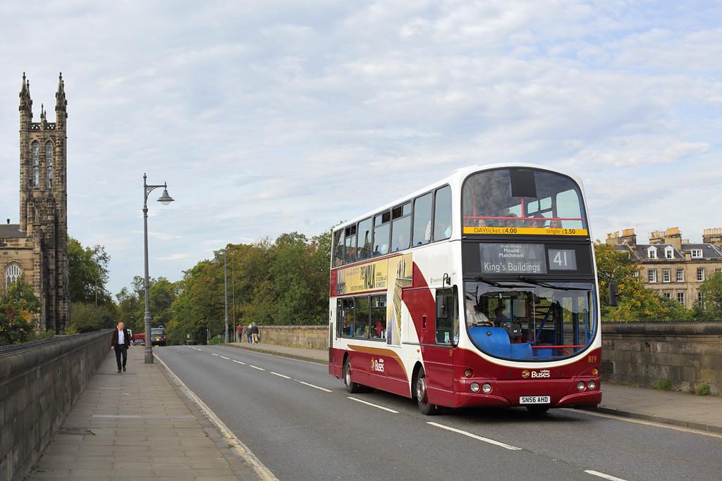 819 SN56AHD, Edinburgh 28/9/2015