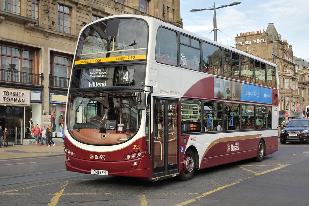 395 SN11EEH, Edinburgh 28/9/2015