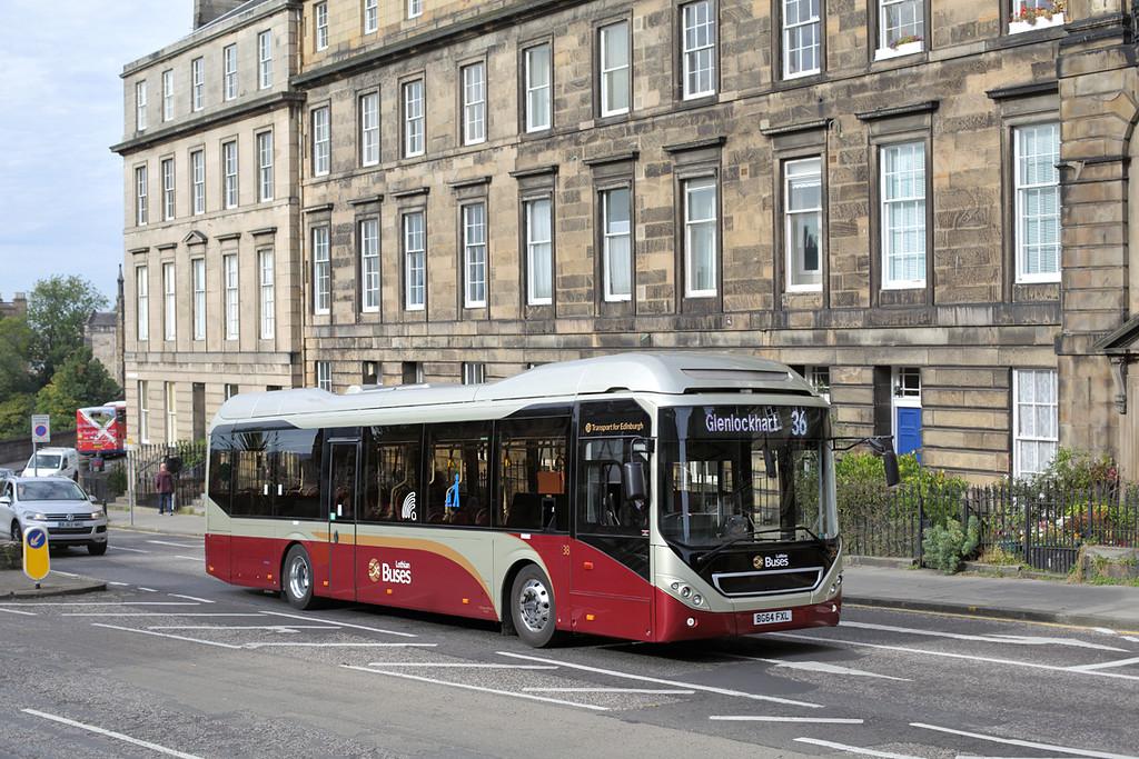 38 BG64FXL, Edinburgh 28/9/2015