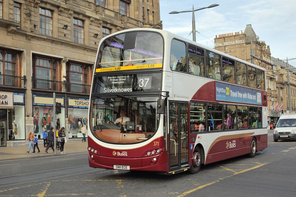 371 SN11ECE, Edinburgh 28/9/2015