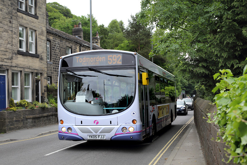 66781 YK05FJJ, Hebden Bridge 29/6/2015