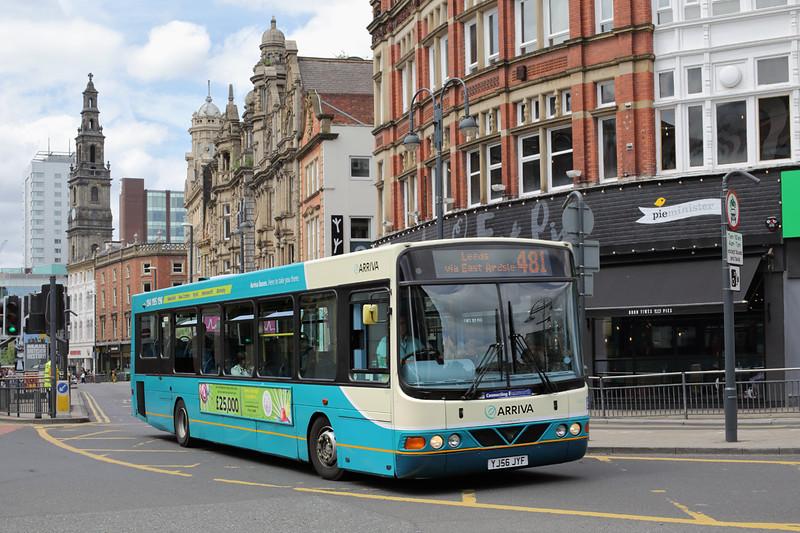 1401 YJ56JYF, Leeds 29/6/2015