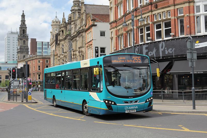 1454 YJ61FFX, Leeds 29/6/2015