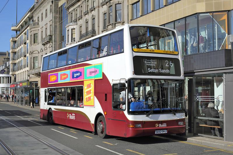 649 SK52OHJ, Edinburgh 29/9/2015