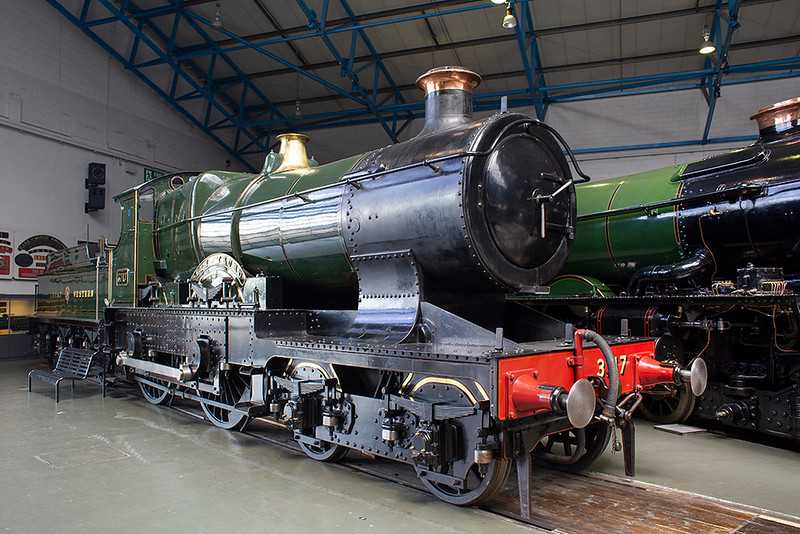 3717 'City of Truro', National Railway Museum 30/7/2015