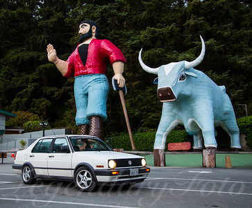 Paul Bunyan and Babe