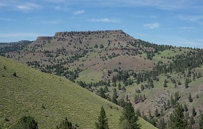 Pendelton-John Day Highway 395 in Oregon