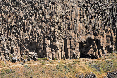 Palouse Falls - Columnar Jointed Basalt