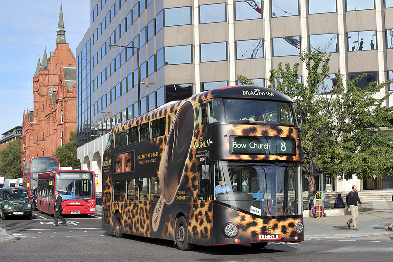 LT248 LTZ1248, Holborn Circus 1/9/2016