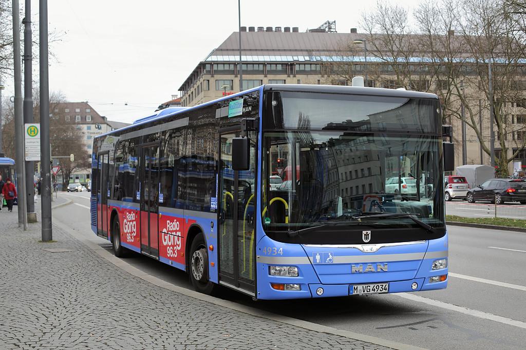 4934 M-VG 4934, Sendlinger Tor 1/12/2016