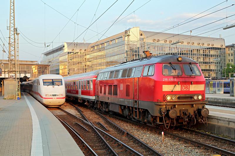 218416 München Hbf 2/5/2016<br /> RB27071 1948 München Hbf-Mühldorf