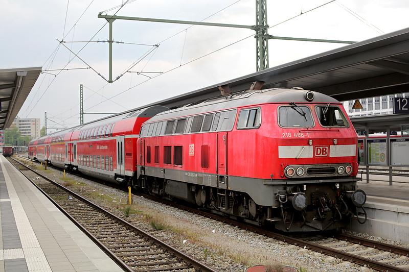 218466 München Ost 2/5/2016<br /> RB27064 1633 Mühldorf-München Hbf