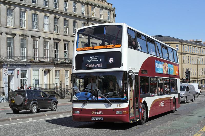 680 SN04ACX, Leith Walk 2/6/2016