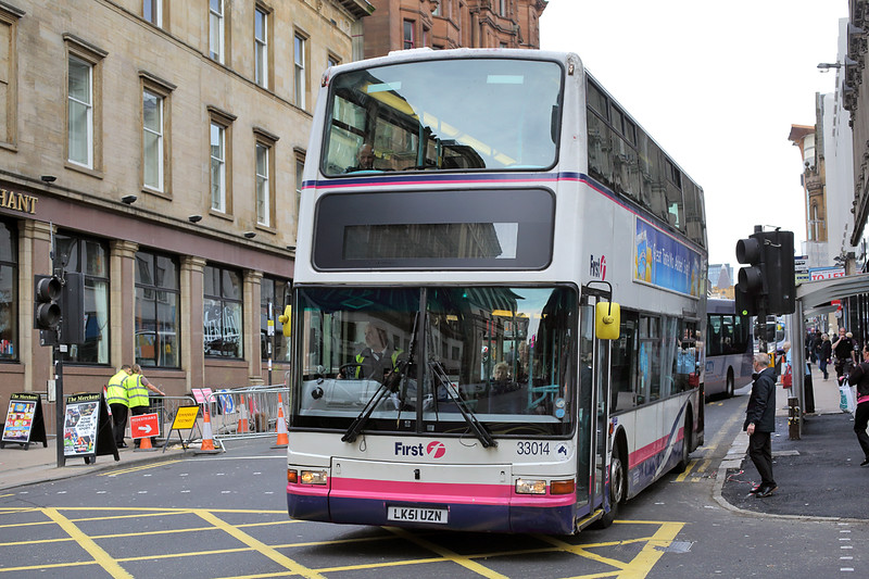 33014 LK51UZN, Glasgow 4/10/2016