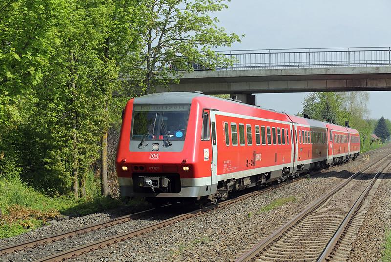 611036 Meckenbeuren 3/5/2016<br /> IRE3044 1002 Ulm Hbf-Radolfzell